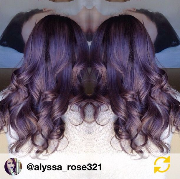 Love this color by Alyssa Gutierrez at J. Michaels Salon and Day Spa!! She used 3oz Kenra Color 8SM + 1/2oz Kenra Color Violet Booster with 10vol.