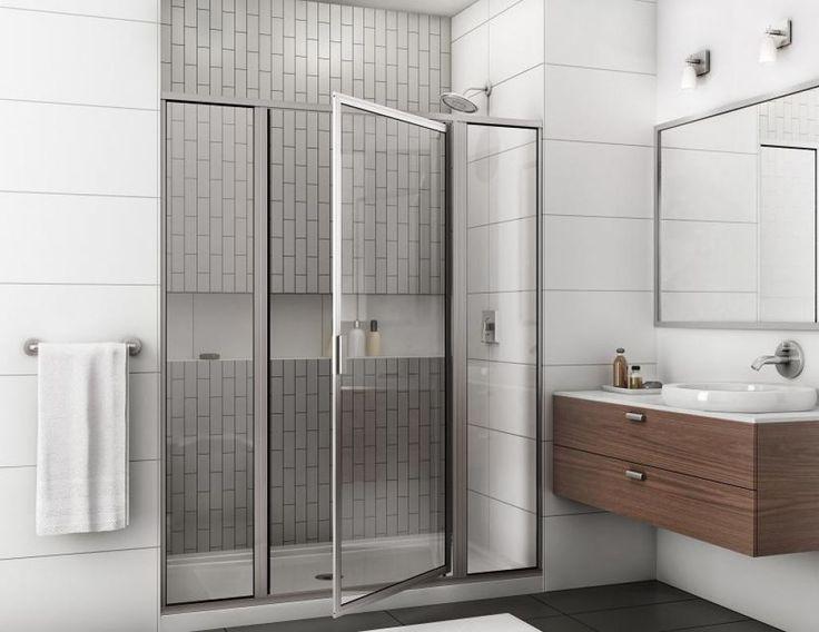 Installing Bathroom Shower Pivot Doors Check more at http://www.wearefound.com/installing-bathroom-shower-pivot-doors/