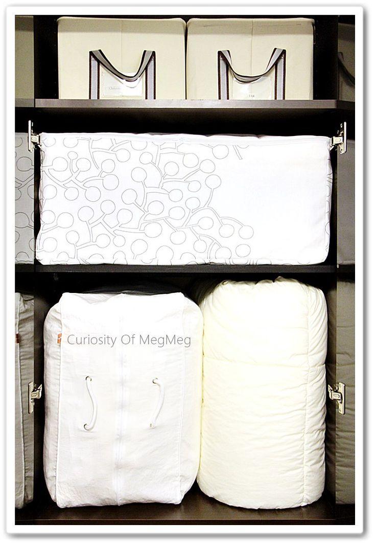 IKEAの布で布団収納ケースを作る | メグメグの好奇心♪♪ 収納インテリア