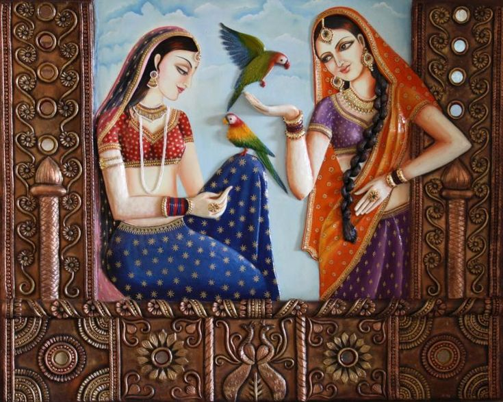 Saritas gallery indian art pinterest galleries 3d for 3d mural art in india