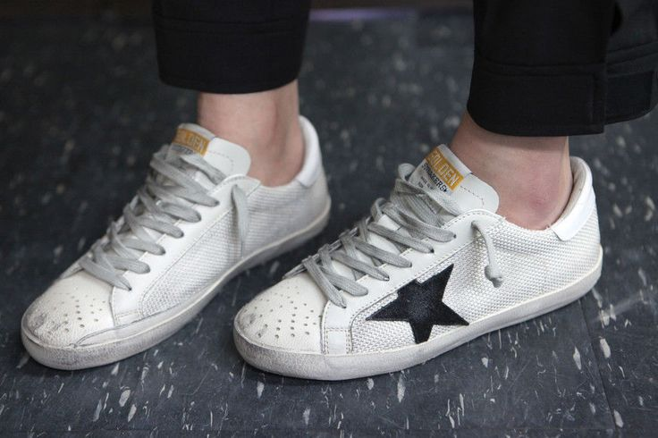 Golden Goose 16 F/W Men's LowTop Superstar Sneakers GCOMS590 P9 Gray Code #GoldenGoose #FashionSneakers