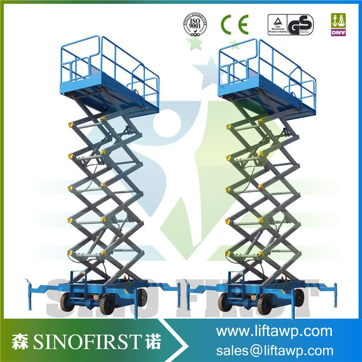 Sinofirst--China Good Quality Full Electric Self-Propelled Scissor Lift with CE for Sales
