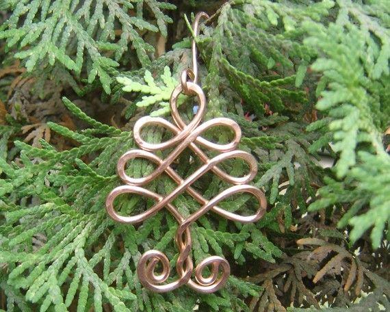 Albero celtico ornamento albero di Natale di nicholasandfelice