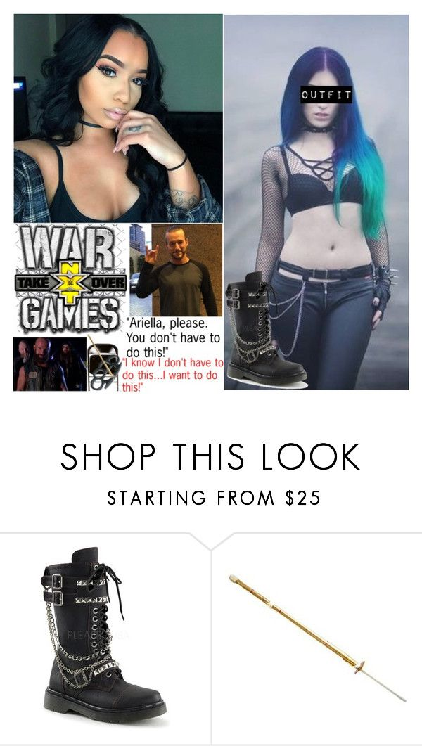 """(Part 3 *Finale*) NXT Takeover: War Games- The Last Stand"" by digital-minerva ❤ liked on Polyvore featuring ADAM and WWE"