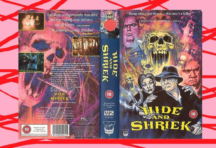 AMERICAN GOTHIC (aka HIDE and SHRIEK in an EU driven and pre Brexit era Britain, pre Brexit Briitsh and Canadian co production, starring Rod Steiger, 1925 - 2002), PAL VHS, Virgin (Premirere), BBFC rating is 18, sleeve is only for big boxer but this is only an image that was scanned @ialocinnicolai #Elokuvat #Ohjaus #FixGalleria #Näyttelijät #Käsikirjoitus #Hirviöt #Metal #KMFDM #CharlotteGainsbourg #RichardBranson #Skulls #80s #Vidmark #Pingas #Troma #YTP #MLG #Grexit #Arthouse #Swede #EU27