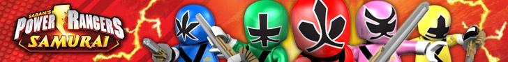 Power Rangers SAMURAI bloks