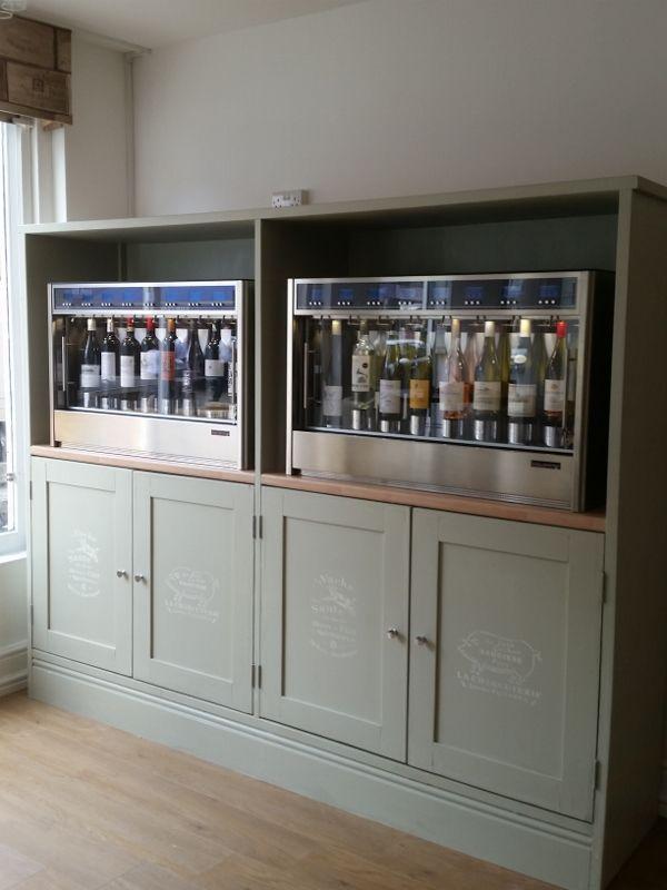 The Grape Escape Tasting House, Wokingham UK WineEmotion Wine Dispenser