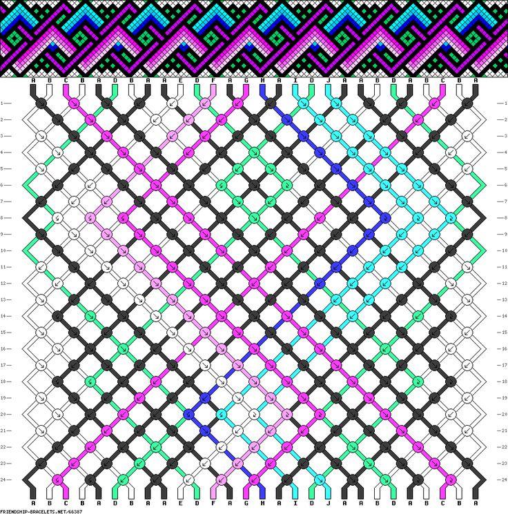 28 strings, 24 rows, 10 colors