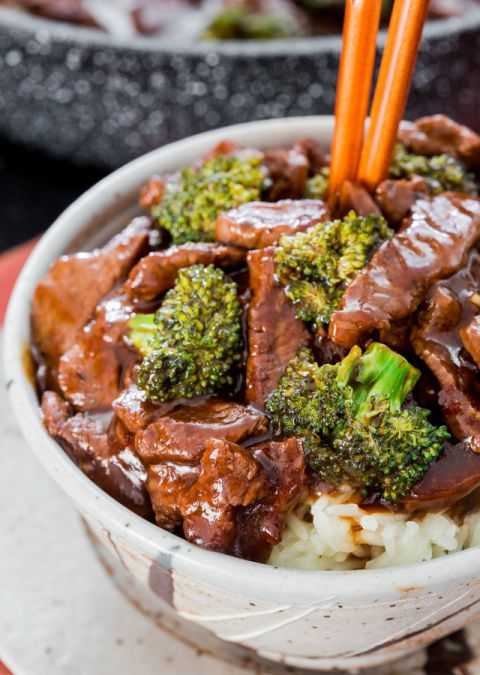 Beef and broccoli are the PB&J of stir fry. Get the recipe from Jo Cooks.
