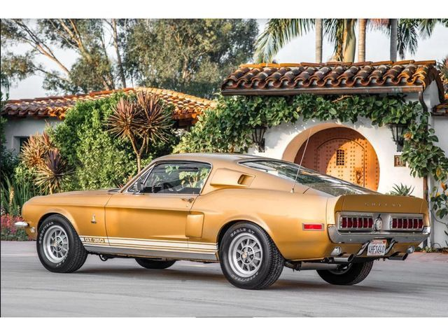 1968 Ford Mustang Shelby Cobra Gold For Sale Cars Power Ford Mustang Shelby Cobra Mustang Shelby Cobra Mustang Shelby