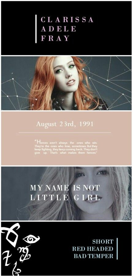 Clary Fray tumblr #shadowhunters