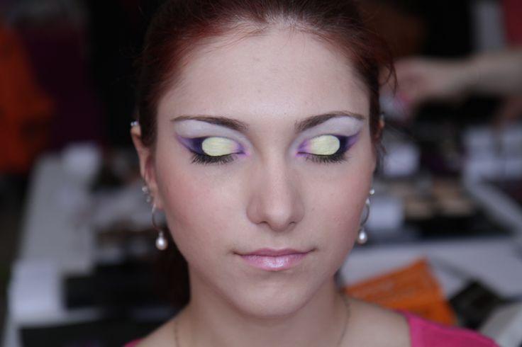 Интересный макияж, удивительный образ богини, с закрытыми глазами пора загадывать желание на счастье. Стилист-визажист Субботина Ирина | +7 916 910 56 34 http://stylistnadom.ru/