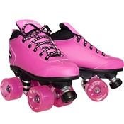 Sure grip Outdoor Roller Skates with American made roller skate wheels are fast and smooth on the sidewalk and are for sale now at skates.com