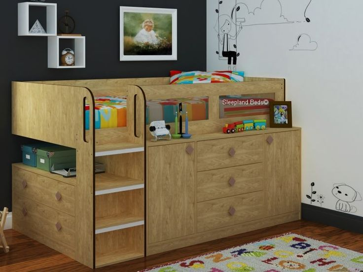 The 25 Best Ideas About Cabin Bed With Storage On