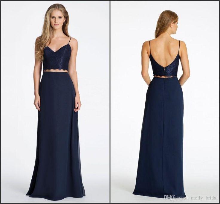 long dress navy blue 78