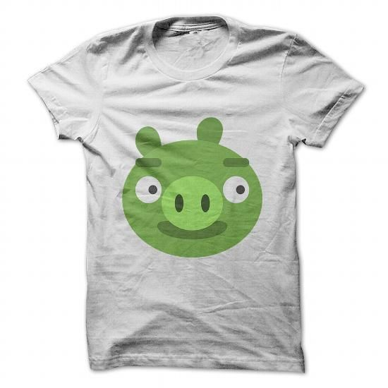 angry birds bad pig T Shirts, Hoodies. Check price ==► https://www.sunfrog.com/Gamer/angry-birds-bad-pig-White-30181658-Guys.html?41382 $19