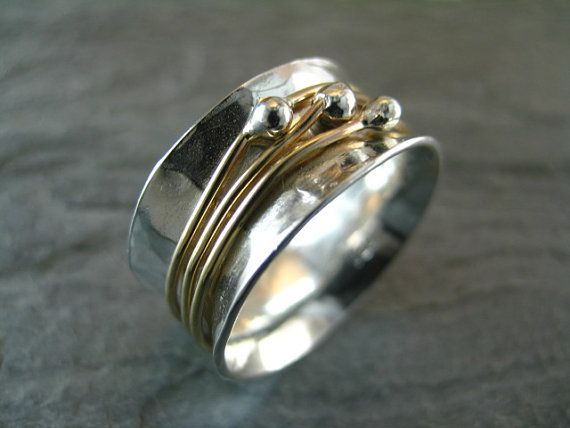 Orbit Ring by stonesthrowjewelry on Etsy, $85.00