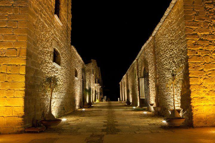 Il cuore del Borgo #magiadellapietra #nighteffect