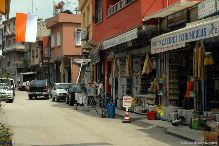Street view in Adana, Turkey oh my the SHOPPING! :)