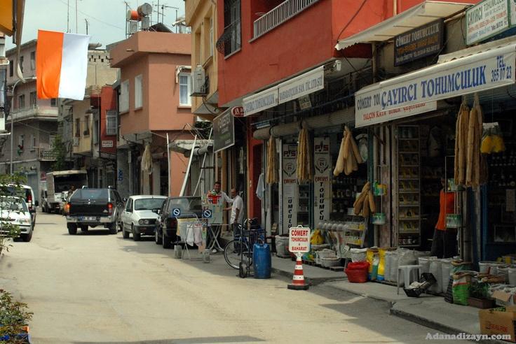Street view in Adana, Turkey oh my the SHOPPING! :)