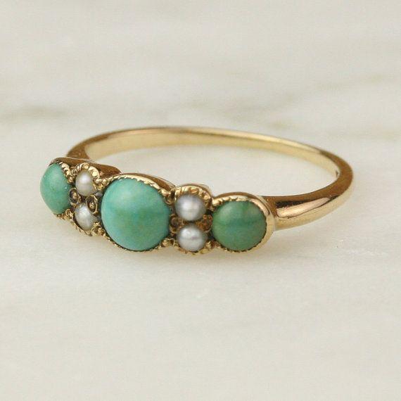 Quiero este anillo victoriano...