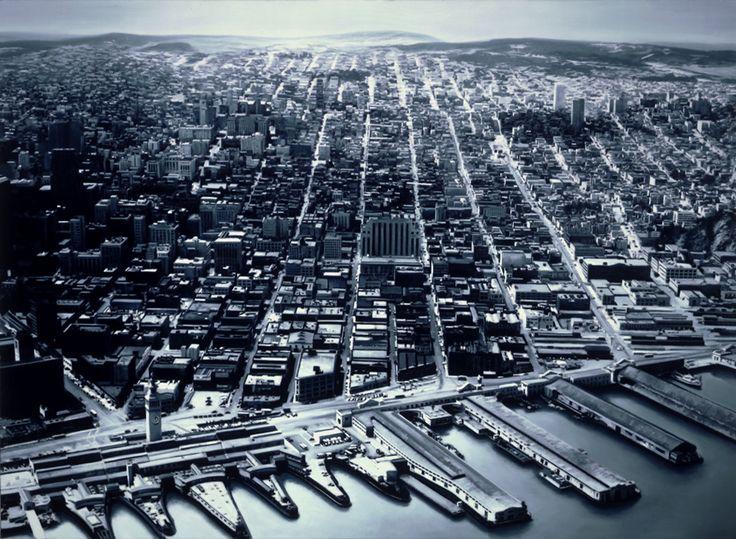 Gottfried Helnwein: Untitled (San Francisco Harbor)