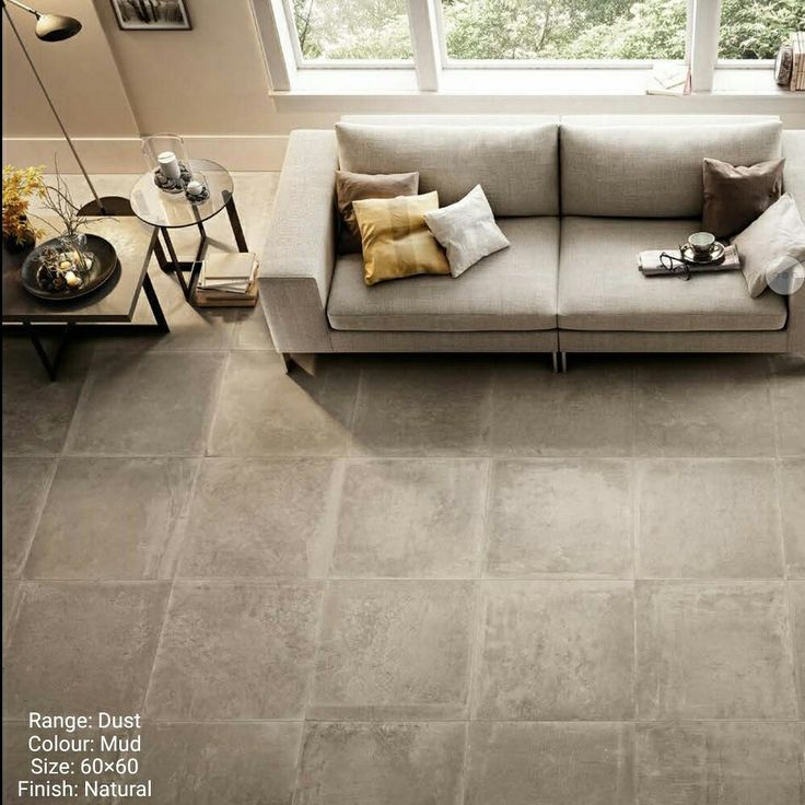 The dust range is a stone effect porcelain tile