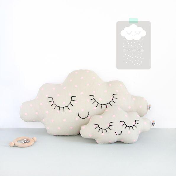 Coussins nuages by ZÜ
