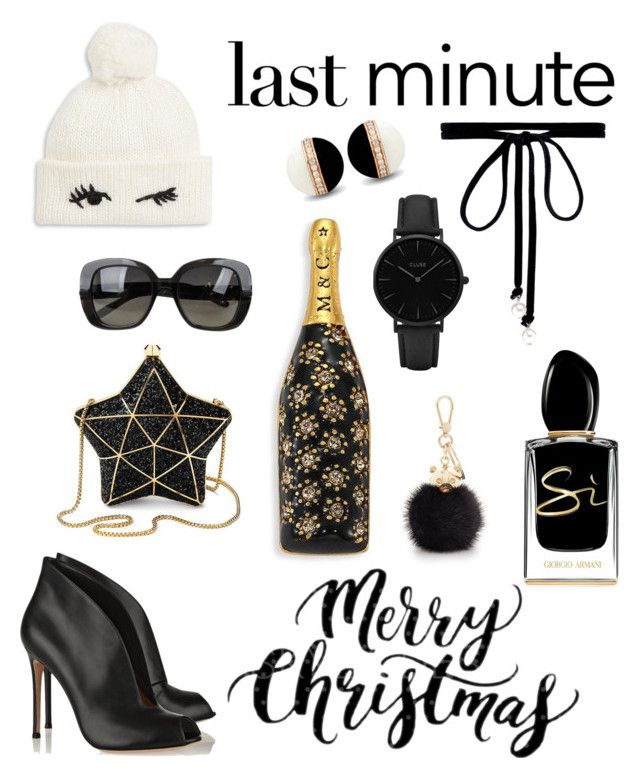 """Last minute Christmas gifts 🎁"" by melzpang ❤ liked on Polyvore featuring Joomi Lim, CLUSE, Marc Jacobs, Giorgio Armani, Kate Spade, Bottega Veneta, Furla and Aspinal of London"