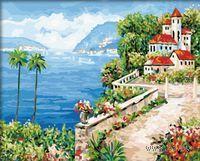 Картина по номерам `Средиземноморье` (400x500 мм; арт. MG307)