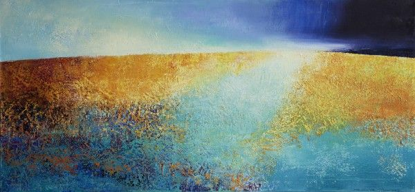 Anne Kristine Thorsby – Dialog – maleri