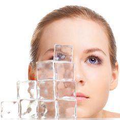 Могут ли кубики льда быть полезны для лица? — Всегда в форме!