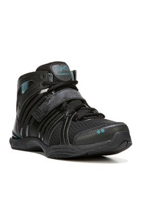 Ryka Women's Tenacity Athletic Shoe - Black/Green - 10.5M