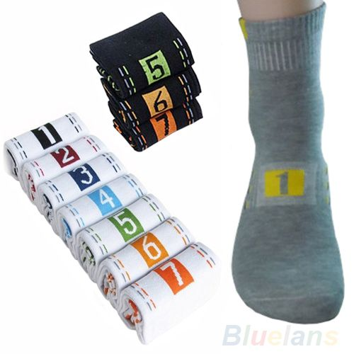 >> Click to Buy << Hot 7 Pairs/Lot Week Casual Mens Fashion Dress Socks Men Cotton Ankle Socks Crew Sock For Gift 02HW 4N8I 7FQA #Affiliate
