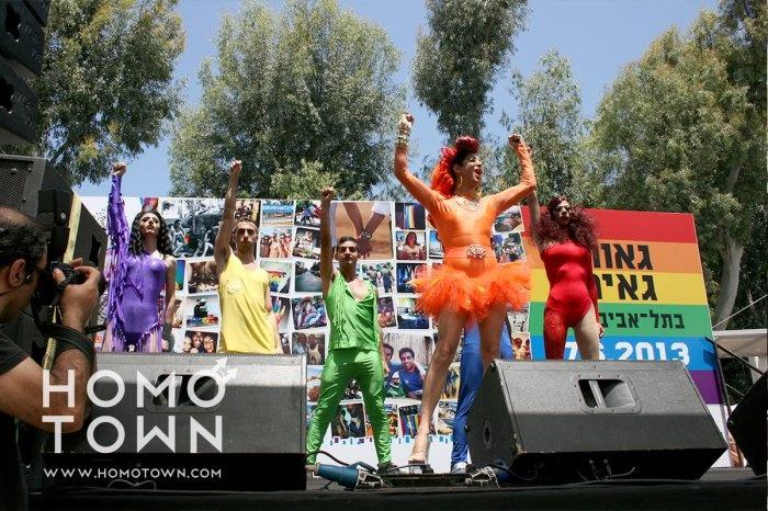 Homotown.com en el Orgullo Gay Tel Aviv 2013, Israel