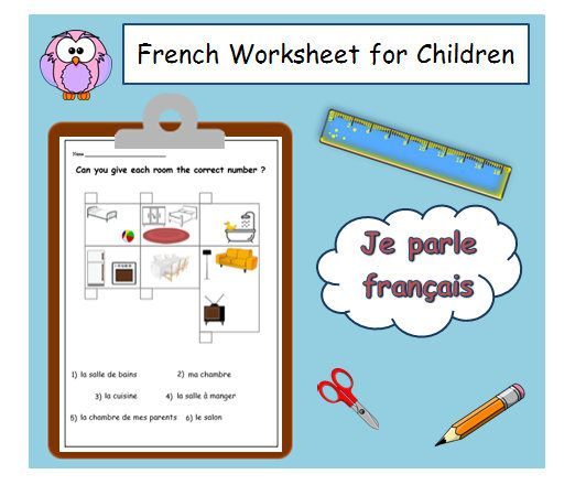 125 best french printable worksheets images on pinterest. Black Bedroom Furniture Sets. Home Design Ideas