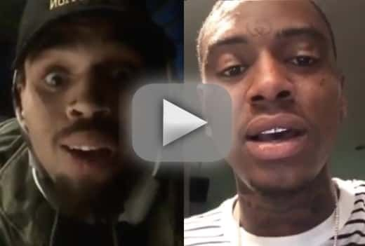 awesome Chris Brown and Soulja Boy Trade Insane Videos, Threats Over Karrueche Tran