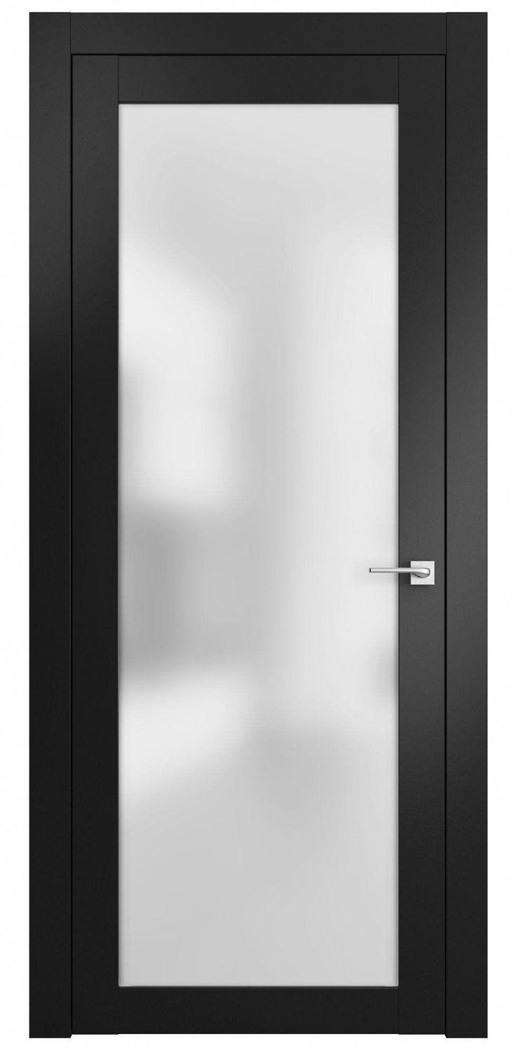 Diese moderne neoklassizistische Innentür besteht aus einem massiven Holzrahmen und …   – Unusual Doors
