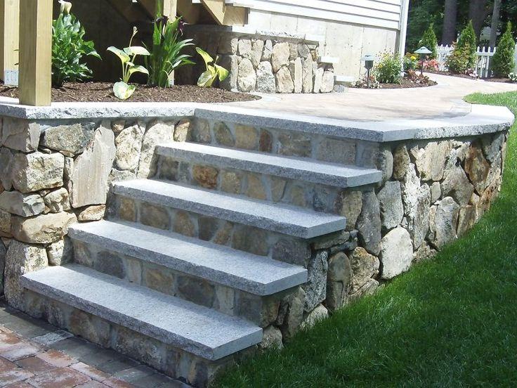 New England Fieldstone Boston Blend Mosaic Thin Veneer Siding (Square U0026  Rectangular Corners) And Mosaic Building Veneer Retaining Walls  Woburn  Concrete: ...