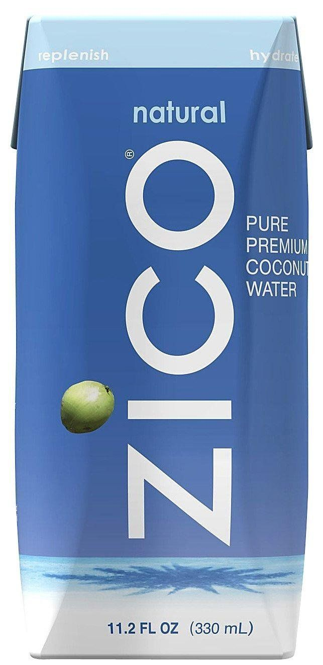 Zico Pure Natural Coconut Water.