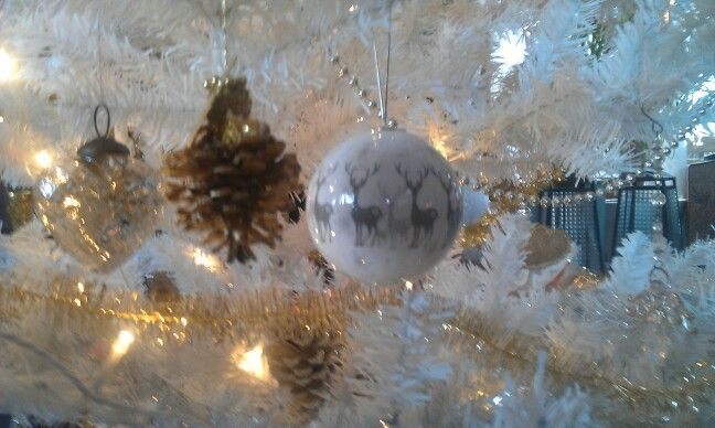 Ornaments on my Christmas tree