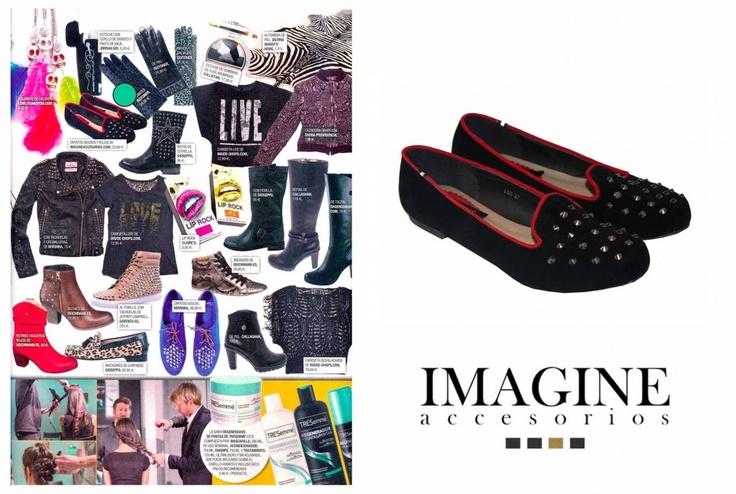 Imagine en la revista supertele.  Nuestras slippers.shop Online  http://imagineaccesorios.com/zapatos/slippers.html