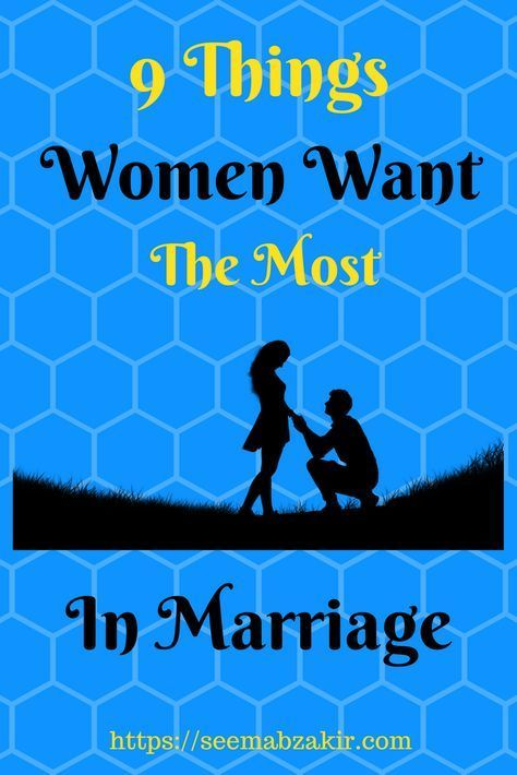 what do women want most in life