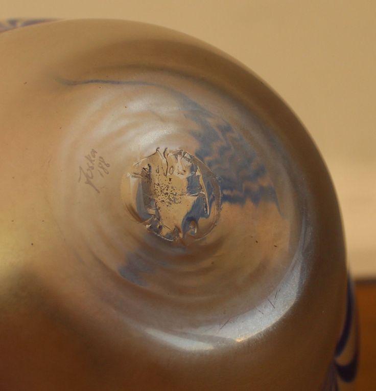 Sehr schöne mundgeblasene Glasvase, signiert Joska 88, in sehr gutem Zustand.14x19cm. | eBay!