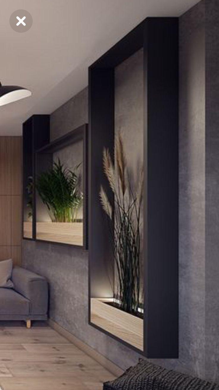 Grande y sencillo marco para decorar un espacio amplio #hogar #homedesing