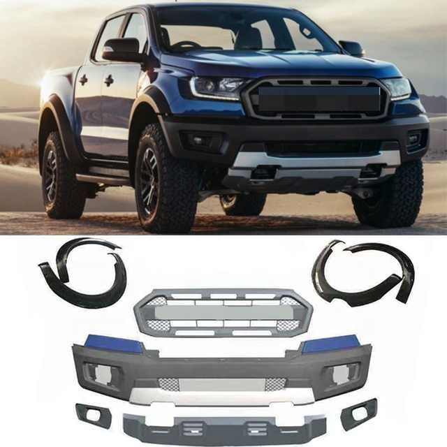 2019 2020 Ford Ranger Raptor Style Complete Grille Kit 19rrg In
