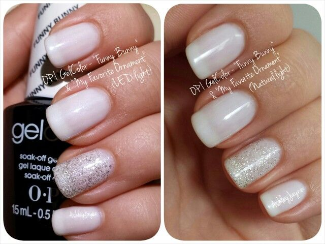 Gelcolor By Opi Quot Funny Bunny Quot Amp Quot My Favorite Ornament
