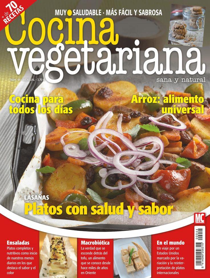 Cocina Vegetariana Revista   Revista Cocina Vegetariana 44 Platos Con Salud Y Sabor
