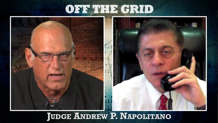 Judge Andrew Napolitano Goes #OffTheGrid | Jesse Ventura Off The Grid - ...Fox News' senior judicial analyst, the always candid, Judge Andrew Napolitano joins Jesse Ventura #OffTheGrid to discuss why Snowden deserves a hero's welcome, the battle to legalize same-sex marriage, and then, the Judge throws his support behind the Governor's possible presidential campaign. Should Jesse run? Message him at http://www.ora.tv/offthegrid/askjesse