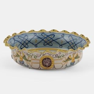 Italian Majolica Bowl - Decorative Collective